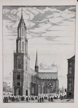 Amsterdam, Nieuwe Kerk  by  Clement de Jonghe