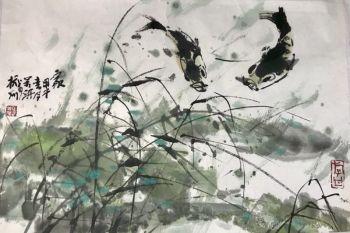 Chinese Carps by Wanqi Zhang