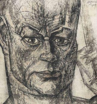 Portrait of Hein Boeken by Jan Toorop