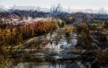 View on Madrid by Jack Marijnissen