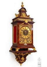 A rare French gilt bronze mounted kingswood bracket clock by Planchon, circa 1890 by Planchon