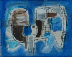 Composition with two figures