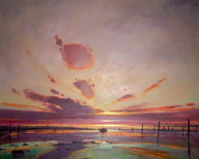 Waddenvuur by Cees Vegh