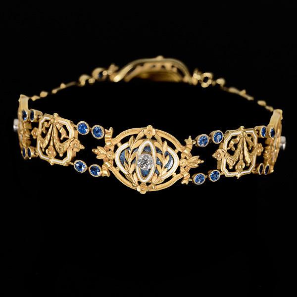 Gautrait bracelet by Leopold Gautrait