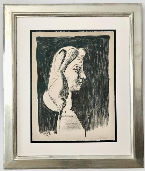 Grand Profil (Francoise Gilot) by Pablo Picasso