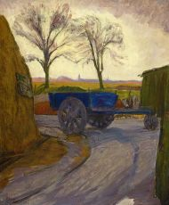 The Blue Cart at Blauwborgje by Jan Altink