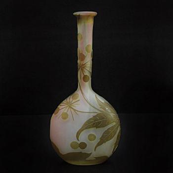Solifleur vase by Emile Gallé