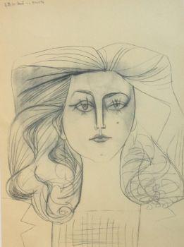 Françoise Gilot 1 by Pablo Picasso