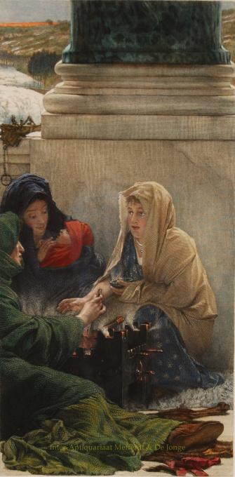 The Seasons - A Roman Idylle- Winter by Lawrence Alma-Tadema