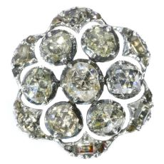 18th Century diamond button by Unknown