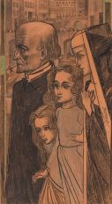 Zielengang by Jan Toorop