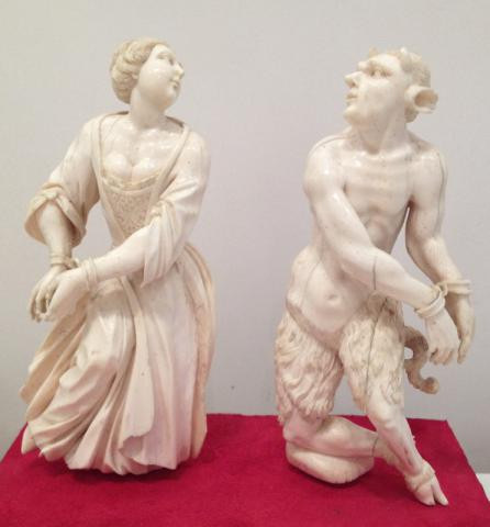 Ivory Heresy and the Devil by Johann Caspar Schenk