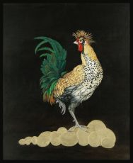 Rooster 'Goldy' by Joyce Balk