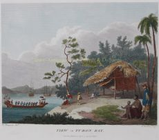 View in Turon Bay, present day Da Nang by Alexander, William (1767-1816)