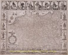 Antique Germany map  by  Janssonius