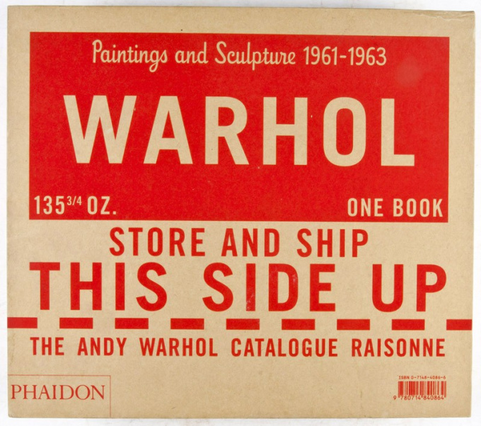 Andy Warhol. Catalogue Raisonné. Paintings and Sculptures 1961-1963. Volume 1 by Andy Warhol