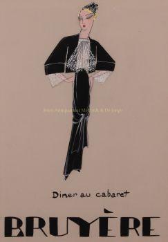 Diner au cabaret  by  Madame Bruyère