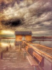 'Life Belt on the Bridge' by Olle Ollson