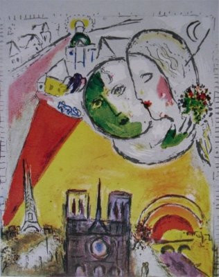 Le Dimanche by Marc Chagall