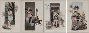 De vier seizoenen  by  Gottfried Sieben