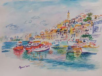 Port-of-jaffa, Israel by Iam Anna
