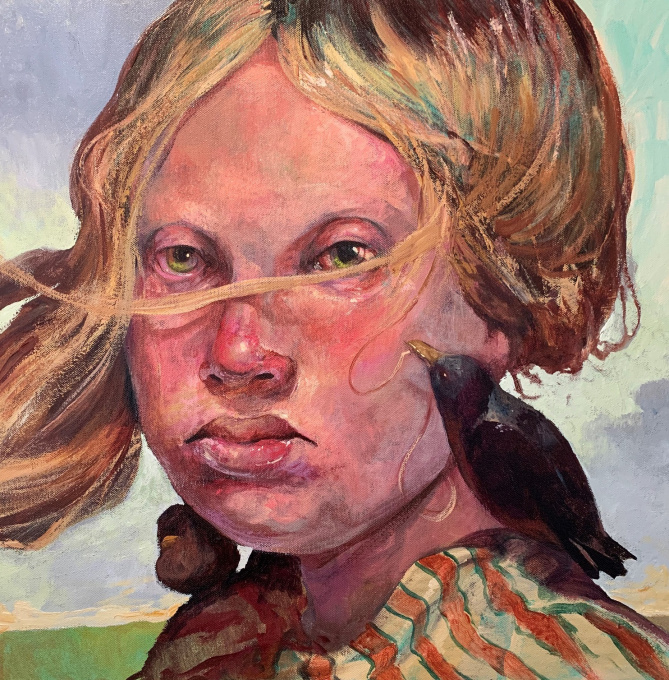 Plans Oil on Linnen In Stock by Kent Knowles