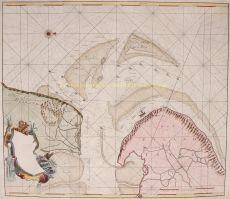 Paskaart van het Marsdiep en Texel by Keulen, Johannes van