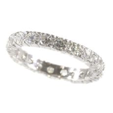 Estate diamond eternity band by Unknown