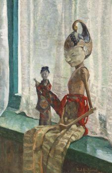 Wajang Doll by Paul Arntzenius