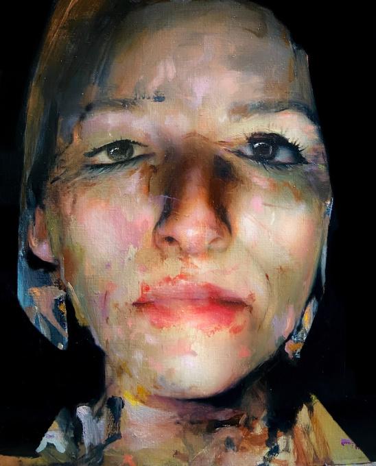Closed eyes by Caroline Westerhout