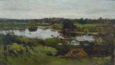 Polderlandscape by Nicolaas Bastert
