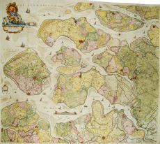 Zeelandiae Comitatus by Reinier Ottens