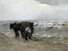 Shell fisherman by Chris Soer