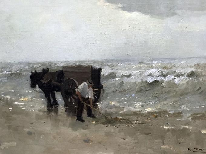 Shell fisherman by Chris Soer