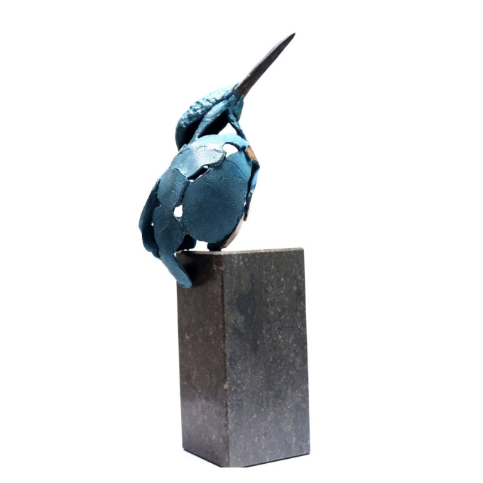 Kingfisher 3 by Jozephine Wortelboer