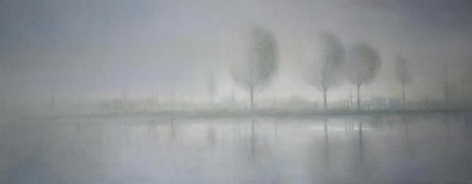 Aan de Amstel V by Anneke Elhorst