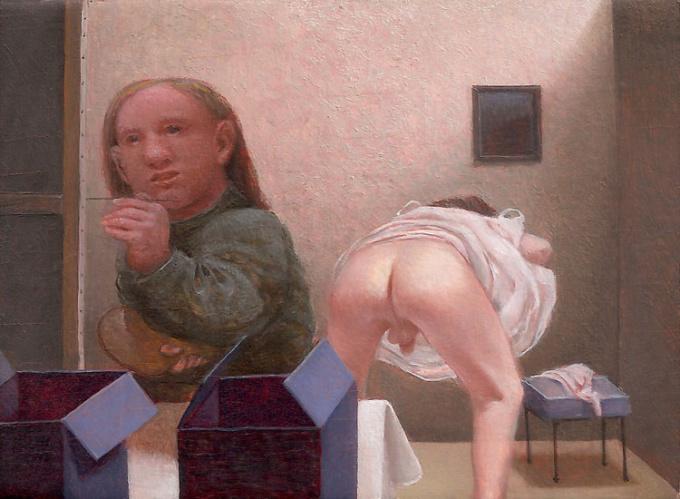 'Kleine blote kont' by Peter van Poppel