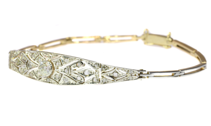 Art Deco diamond bracelet by Unknown
