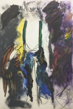 Zelfportret met brief by Ger Lataster