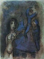 Rahab et les Espions de Jericho by Marc Chagall