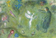 Philetas' Orchard by Marc Chagall