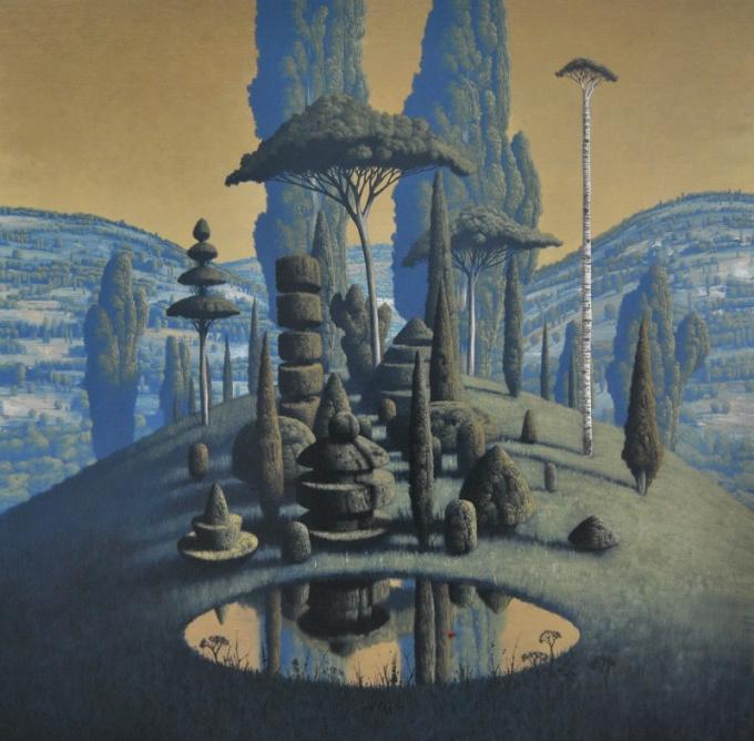 Congregatio Silentii IV by Victor Muller