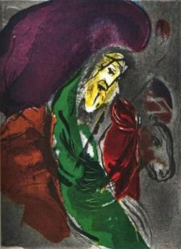 Jeremie by Marc Chagall