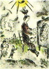 """Plate 16 (""""Celui qui les les sans rien dire"""")"""