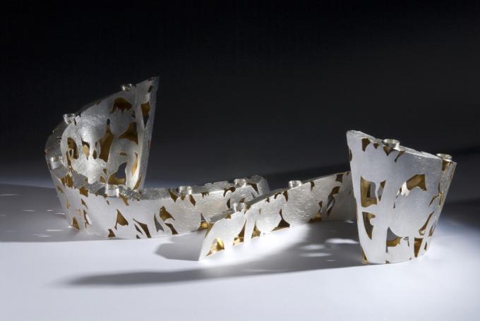 "Candle holders "" Field bouquet"" by Paul de Vries"
