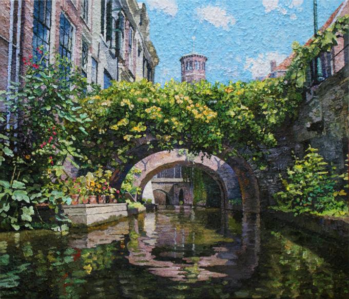 Kromme Nieuwegracht  by Willem van der Hofstede