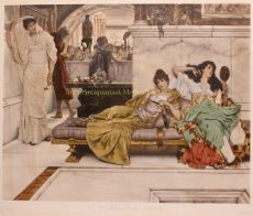 At the Shrine of Venus  by Lawrence Alma-Tadema