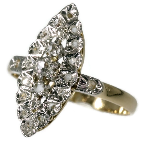 French estate diamond ring by Unknown