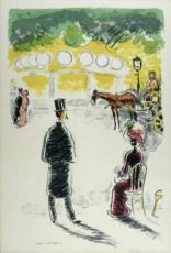 The Carrousel et le  Fiacre by Kees van Dongen