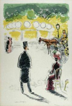 The Carrousel et le  Fiacre by Kees van Dongen